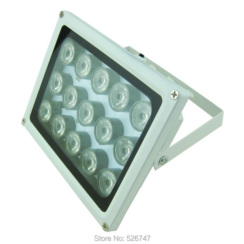 Night vision 8 LED Array IR Infrared Illuminator Lamp SAE100-IR8ZL-1