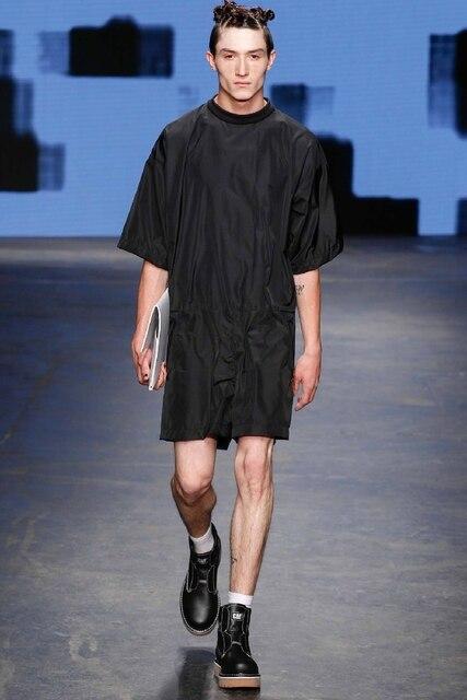 Rompers New Summer New Siamese Men S Version Of Slim Dressing Men