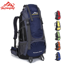 Nylon Waterproof Large Capacity Clmbing Backpack Men Women Outdoor Camping Backpack Sports Casual Hiking Travel Backpacks Male 40l large capacity sports travel bag men women outdoor camping rucksack multifunction nylon waterproof male hiking backpacks