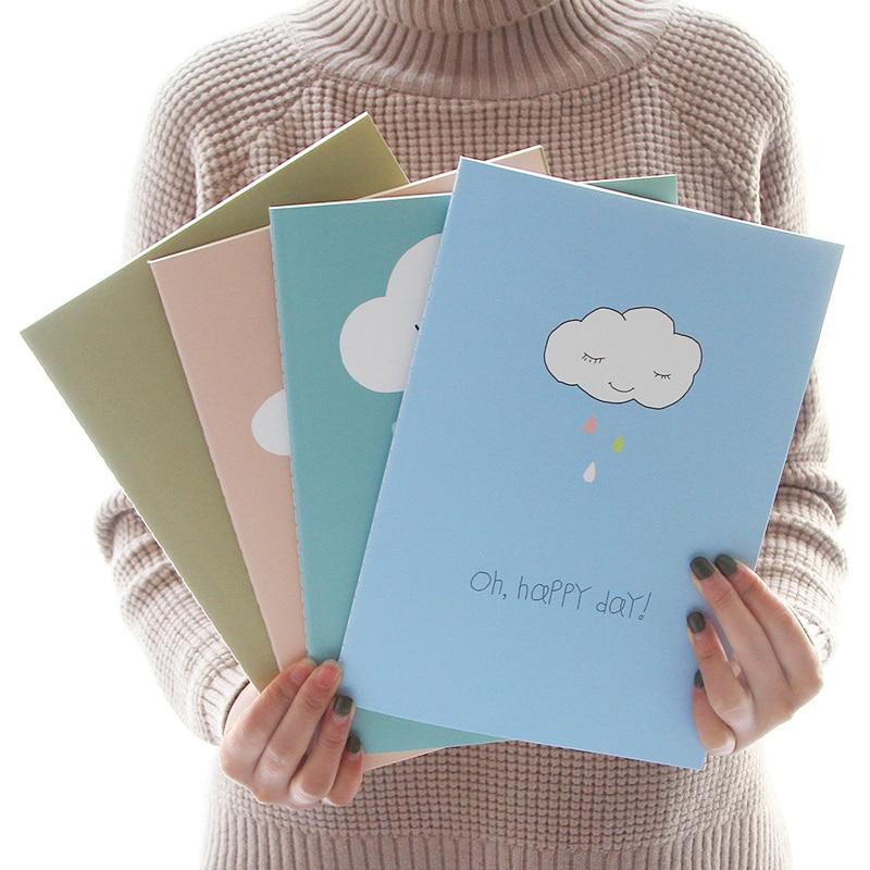 JIANWU Симпатичний мультфільм ноутбук B5 ноутбук Туба Зошит каваї Канцелярські Студентський подарунок Багато стилів
