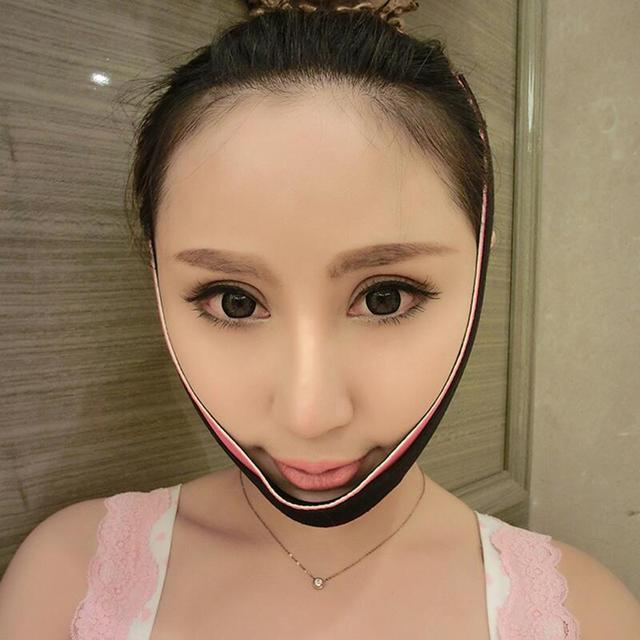 Delicate Face Lift Tool Facial Thin Slimming Bandage Skin Care tool Belt Shape And Lift Reduce Double Chin Face Slimming Band 1