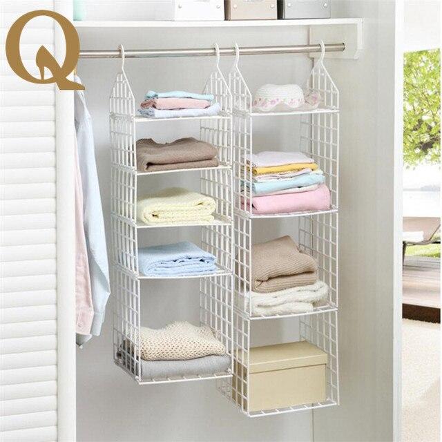 diy garderobe 2017 grote verkoop praktische huishoudelijke kleding plank opvouwbare familie garderobenschrank