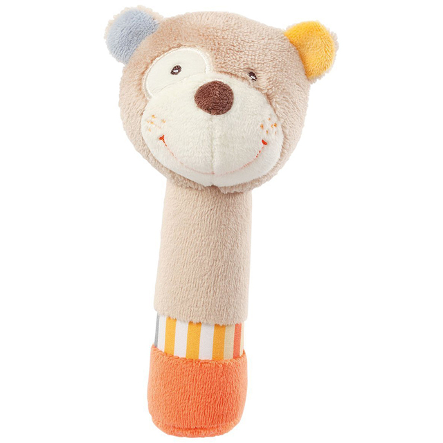 Cute Animal Plush Rattles