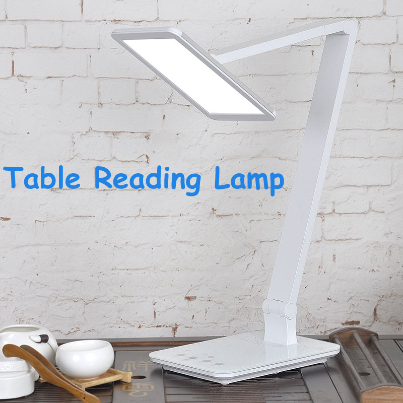 LED Eyecare Lamp 7.4 Inch Surface Light Source Lamp Eye-Protection Portable Desk Lamp Touching Reading Lamp 8022 7 inch portable led atsc