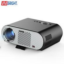 2017 Vivibright GP90 Lujo Mejor 1280×800 Película de Cine USB Completo Otca Vídeo HD WXGA 720 P HDMI VGA 1080 P de Cine En Casa proyector