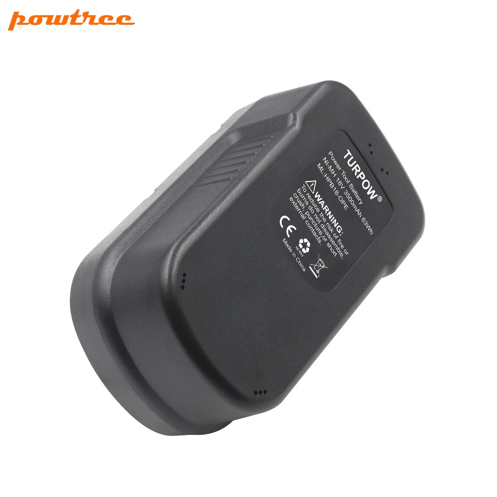 2PACKS 3500mAh 18V NI MH HPB18 Rechargeable Battery For BLACK DECKER A18 A1718 A18NH HPB18 HPB18 OPE FS1800CS FS1800D FS180 L10 in Replacement Batteries from Consumer Electronics