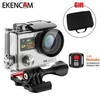 EKENCAM H3R 2 4G Remotel Control Dual Screen Action Camera 4K 25FPS Sport Travel Camera Same