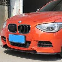 F20 M Tech М Спорт углеродного Волокно автомобиля спереди Средства ухода за кожей комплект бампер губы для BMW F20 m tech только 2012 2014