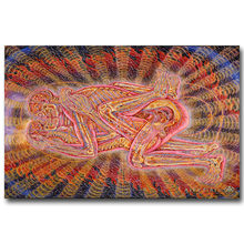 Nordic Poster Alex Grey Trippy Psychedelic Wall Art Canvas Painting Abstract Pictures For Living Room Decoration Home Decor(China)
