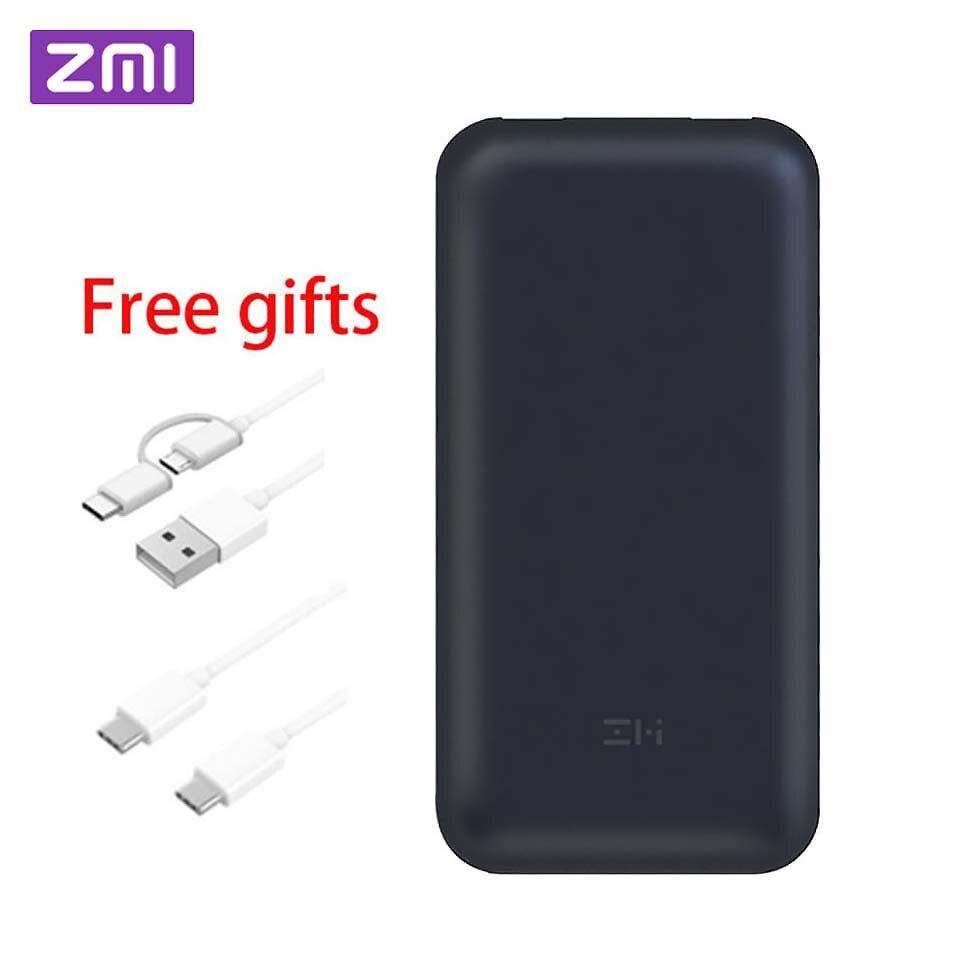 D'origine Xiaomi ZMI 20000/15000 mah USB-C Puissance Banque USB PD2.0 QB820 Powerbank Charge Rapide 3.0 Type-C chargeur pour Macbook Ordinateur Portable