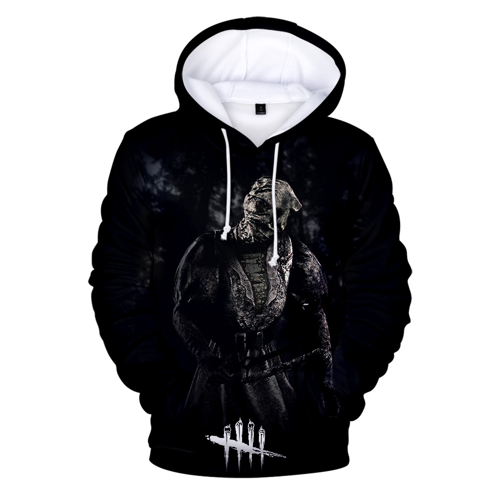 Dead By Daylight 3D Print Hoodies Men/women With Streetwear Men's Hoodies And Sweatshirt 3D Death Is Not An Escape Clothe