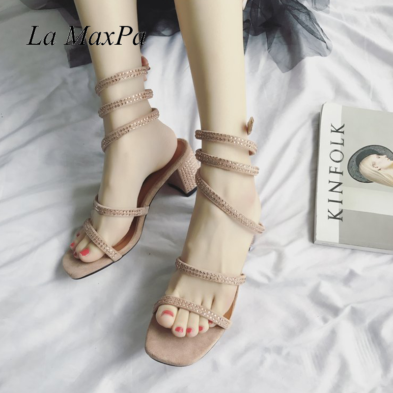 7b0717b27551 La-MaxPa-Gladiator-Casual-Crystal-Sandals-Snake-Winding-Rhinestones-Toe- Women-Shoes-2018-Female-Summer-Thick.jpg