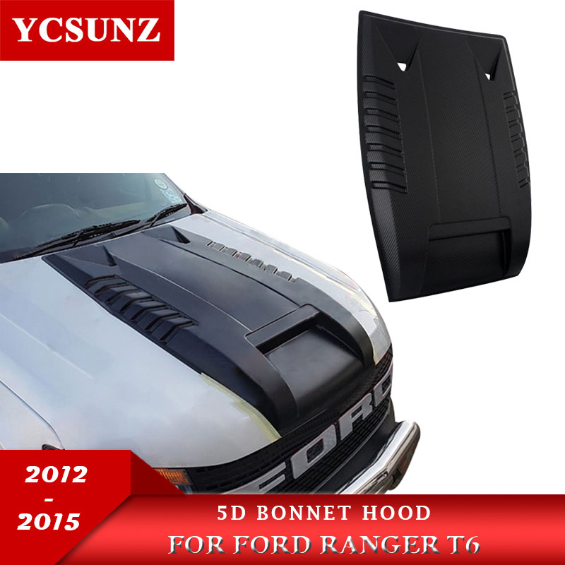 Bonnet Scoop Hood Car Accessories For Ford Ranger T6 2012 2013 2014 Wildtrak