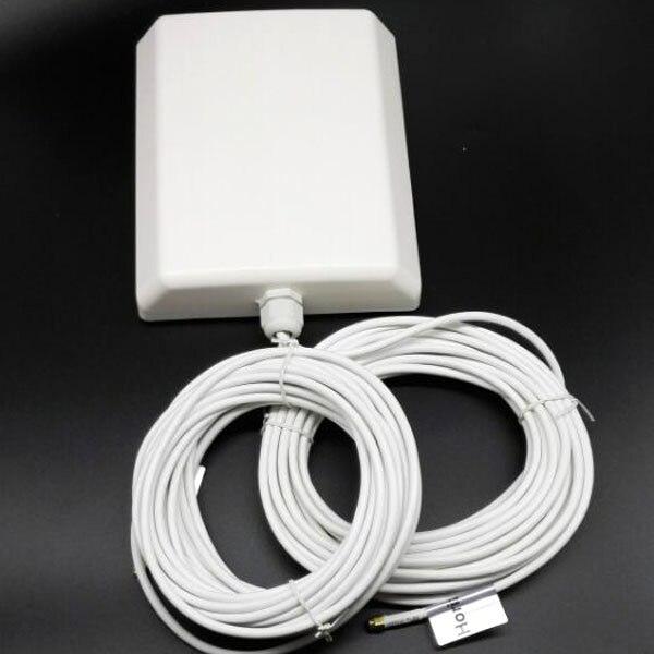 1800-2600 МГЦ 4 Г LTE TDD 10db Открытый Mimo антенна 2 * sma мужчина с 10 м кабеля