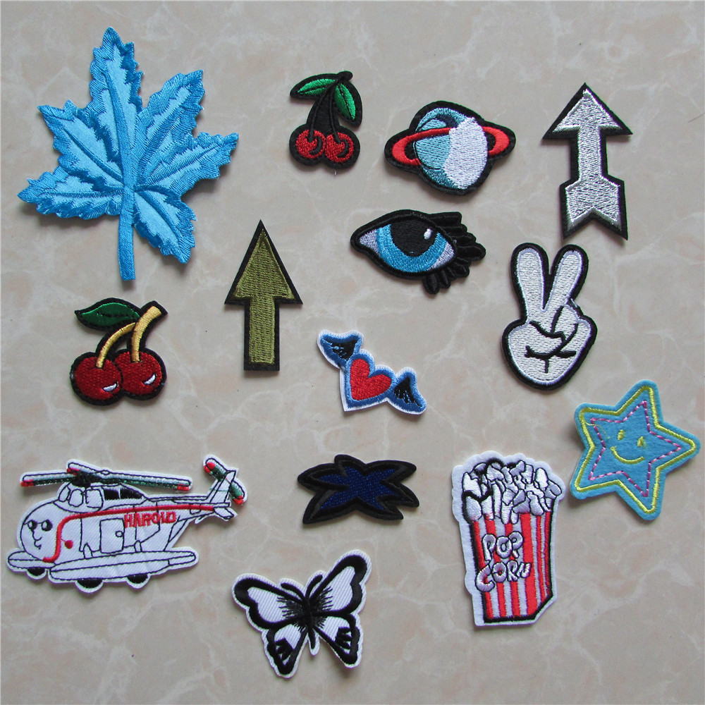 New arrival fashion patches hot melt adhesive applique