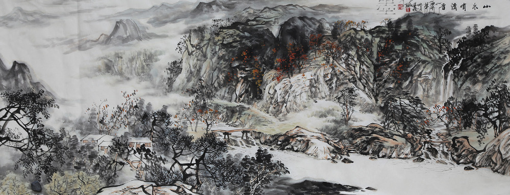 a8f09c0fa Original Asian Chinese Landscape Painting Famous watercolor ink painting  abstract Artist Quan Xingheng asian brush paintings on Aliexpress.com |  Alibaba ...