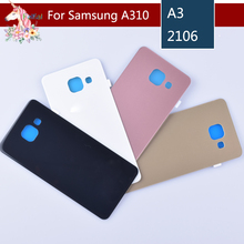 For Samsung A3 A310 A5 A510 A7 A710 A9 A910 2016 Housing Battery Cover Door Rear Chassis Back Case Housing Glass Replacement for samsung galaxy a710 a710f a7100 a7 2016 housing battery cover door rear chassis back case housing glass replacement