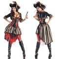 Roxo piratas do caribe piratas trajes feminino traje do pirata fancy dress costumes para o dia das bruxas