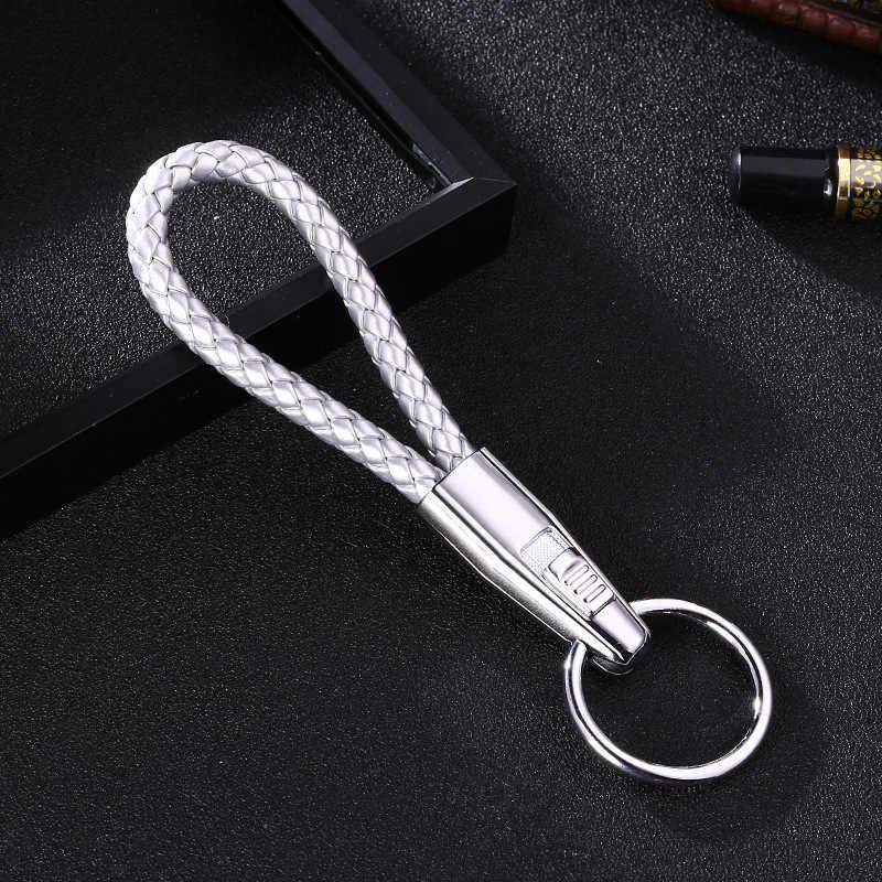 New Thương Hiệu Người Đàn Ông Phụ Nữ Móc Chìa Khóa Xe Hàng Đầu làm bằng tay Xe Vòng Chìa Khóa Xe Vòng Chìa Khóa Kim Loại Keychain Chất Lượng Cao móc chìa khóa Xe K1153