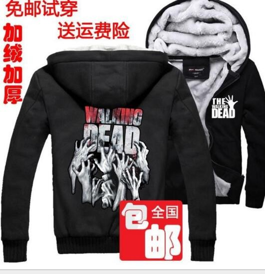 daf3cd7264 hot The Walking Dead Hoodie Zombie Daryl Dixon Wings thick hand ...