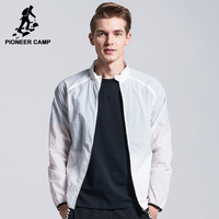 Pioneer Camp New Design Ultra Thin Jacket Men Brand Clothing Sun Protection Coat Male Ultra Light