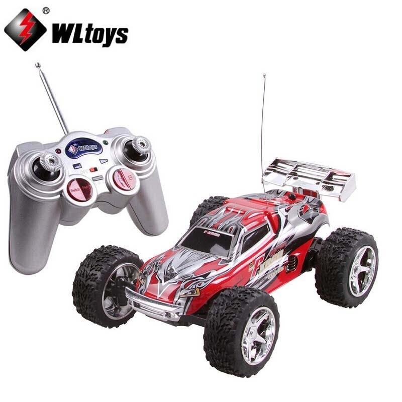 WL игрушки WL 2019 высокая скорость мини RC TRUCK (20-30 км/час) super Car 1:32 Дистанционное управление автомобиля Радио автомобиля