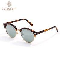 aa1bc3c594 COLOSSEIN Polarized Sunglasses Women Cat Eye Retro Fashion Sun Glasses  Black Acetate Frame Vintage Sunglasses Oculos. COLOSSEIN polarizado Gafas  de sol ...