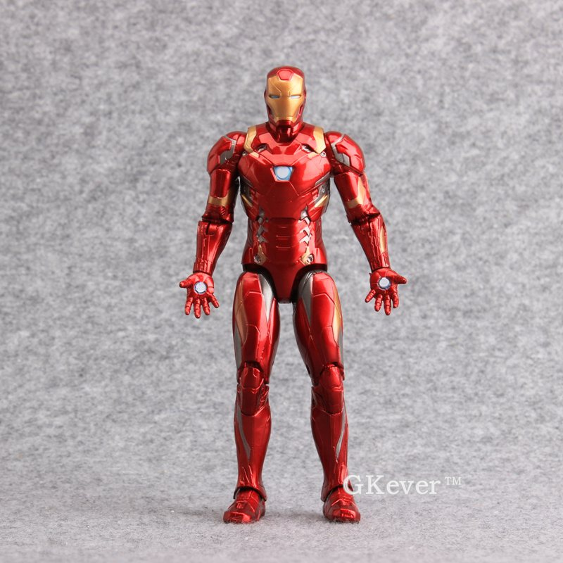 High Quality Captain America 3 Civil War Iron Man PVC Action Figures Collectible Model Toys 7 18 CM With Retail Box 2 Styles captain america civil war bobble head pvc action figure collectible model toy doll 10cm