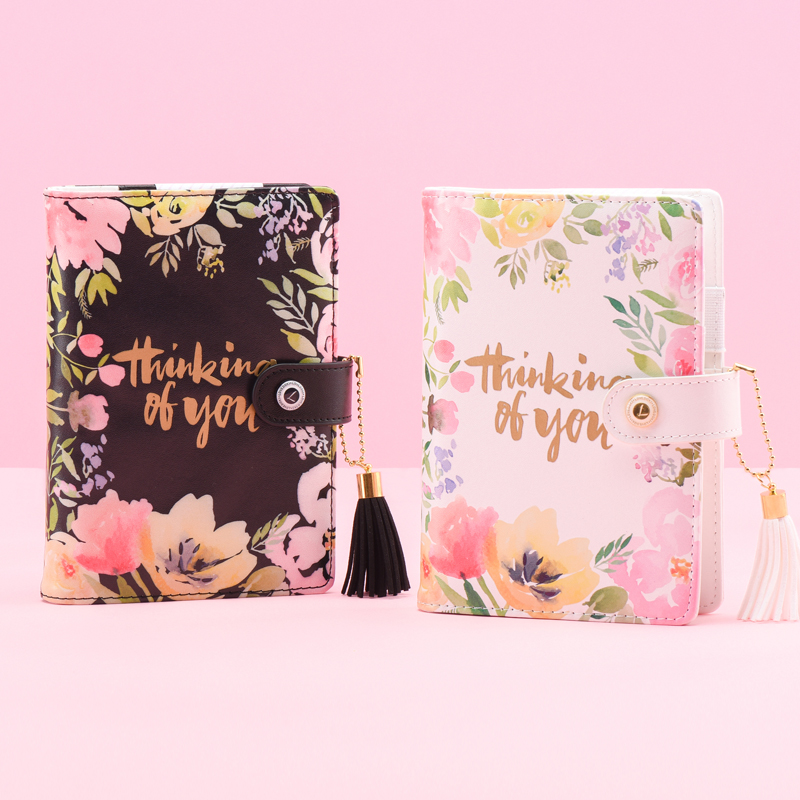 Lovedoki Mid Summer Series Thick Notebook 2018 Weekly Plan A6 Planner Creative Student Diary Supplies Korean gift Stationery never sweet pink diary a6 spiral notebook agenda 2018 personal weekly planner chancellory school supplies korean gift stationery