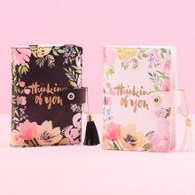 Lovedoki mid summer série caderno grosso 2019 plano semanal a6 planejador criativo estudante diário suprimentos de papelaria de presente coreano