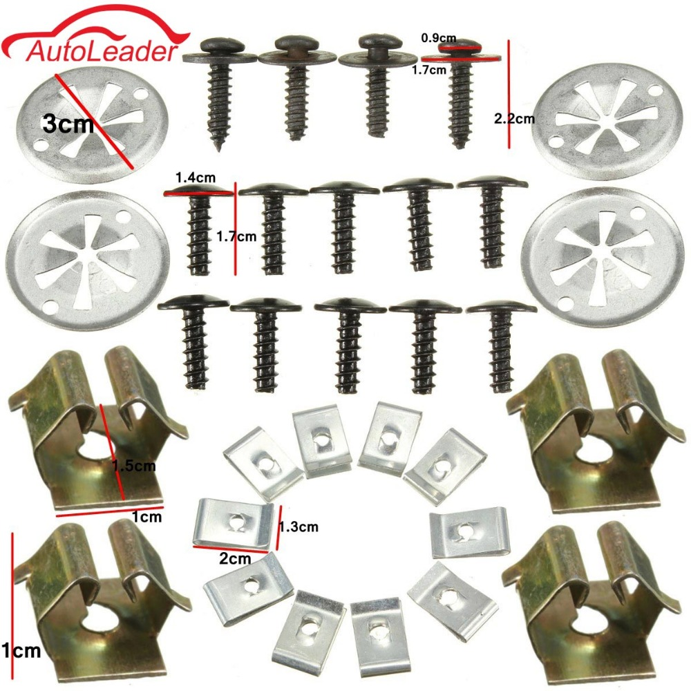 5x Clip Nut For Mercedes Undertray Moteur catégorie Lower Shield Metal