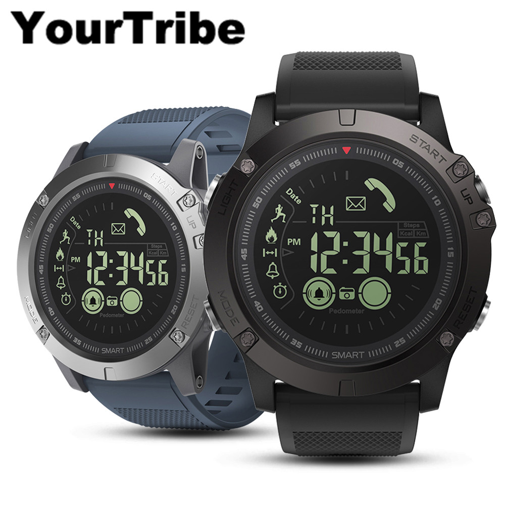 YourTribe VIBE 3 Flagship luminous Smartwatch 33-month Standby Time 24h All-Weather Monitoring Smart Watch For IOS And Android