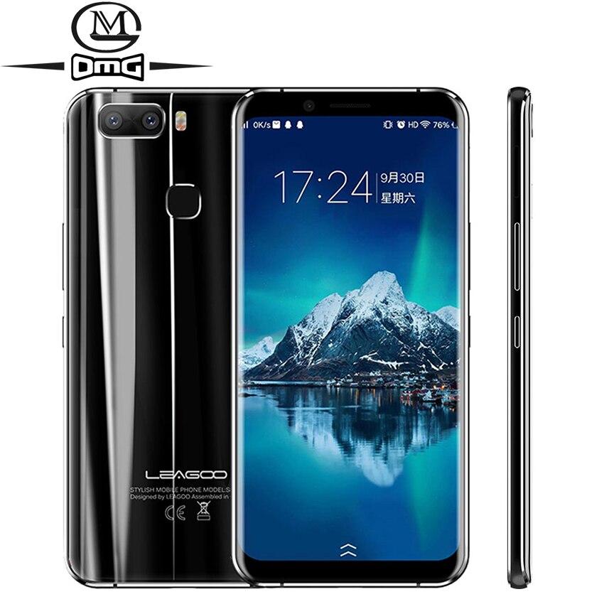 Leagoo S8 Pro 6 ГБ Оперативная память 64 ГБ Встроенная память мобильного телефона MT6757 Octa core FHD 5.99 »Android 7.0 4 г смартфон двойной назад Камера сотовые те…