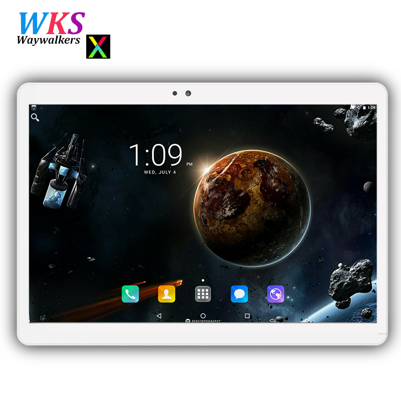 Free shipping 10 inch tablet pc Android 7.0 Octa Core 4GB RAM 64GB ROM 1280*800 IPS Dual SIM Card WIFI Bluetooth Smart tablets cige a6510 10 1 inch android 6 0 tablet pc octa core 4gb ram 32gb 64gb rom gps 1280 800 ips 3g tablets 10 phone call dual sim