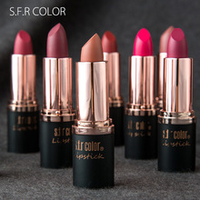 Купить с кэшбэком Brand Makeup Matte Waterproof Velvet Lip Lipstick  Pigments Lipstick  Matte Lipsticks Beauty Lipslong lasting tint lips cosmetic