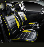 car seat covers perfect match pu leather cushion set origin for Alfa Romeo Boxster Cayenne cayman Bentley Arnage Flying Spur GT