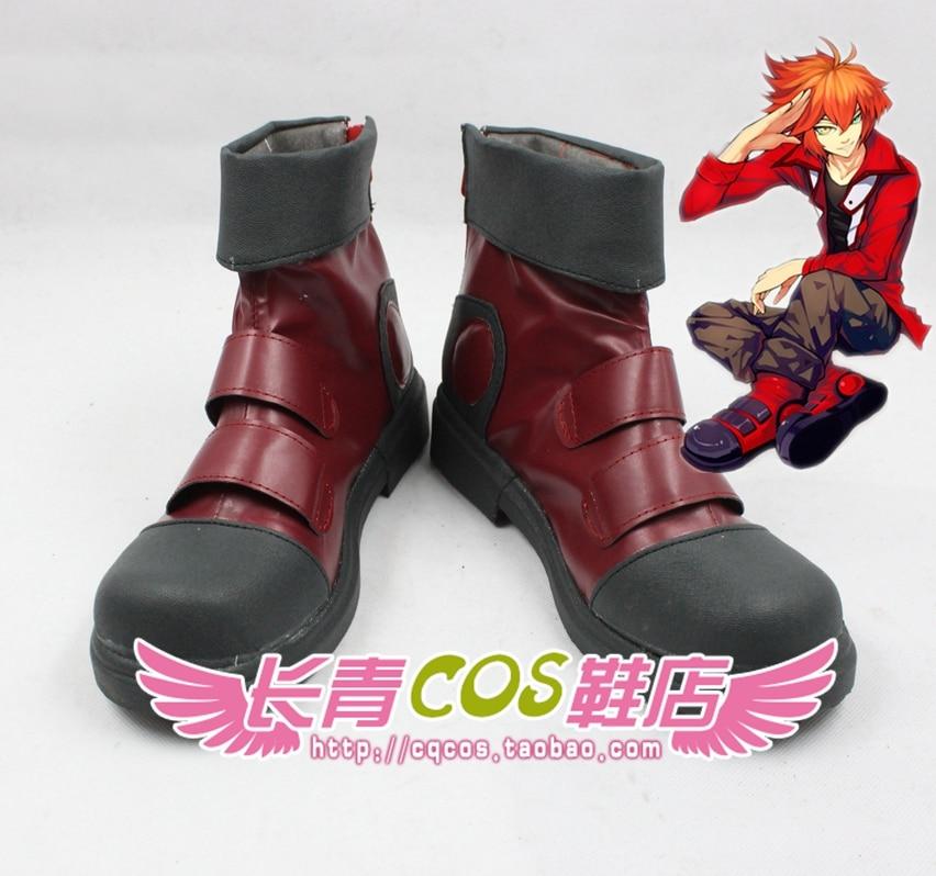 Initiatief Yu-gi-oh! Gx Yuki Judai Jaden Yuki Cosplay Schoenen Laarzen Custom Made 1973 Haren Voorkomen Tegen Grijzing En Nuttig Om Teint Te Behouden