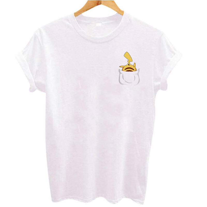 t-shirt-female-harajuku-kawaii-shirt-font-b-pokemon-b-font-go-t-shirt-funny-pikachu-printed-tee-shirts-women-tops-tees