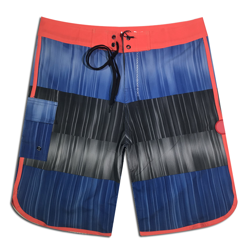 2019 Summer New Sports Brand Board   Shorts   Mens Quick Dry Beach   Shorts   Elastic Surfing Fitness Gym   Shorts   Waterproof Boardshorts
