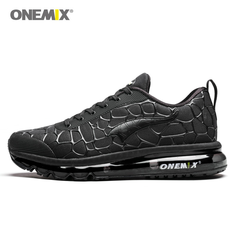 ONEMIX Air Cushion Men Running Shoes Breathable Sneakers For Man Sport Shoes Male Athletic Outdoor Advanced Walking Sneaker Shoe