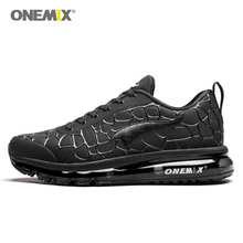 ONEMIX Air Cushion Men Running Shoes Breathable Sneakers For Man Sport Shoes Male Athletic Outdoor Advanced Walking Sneaker Shoe onemix men flash running shoes air cushion wearable sport shoes breathable comfort fitness sneakers outdoor casual walking shoes