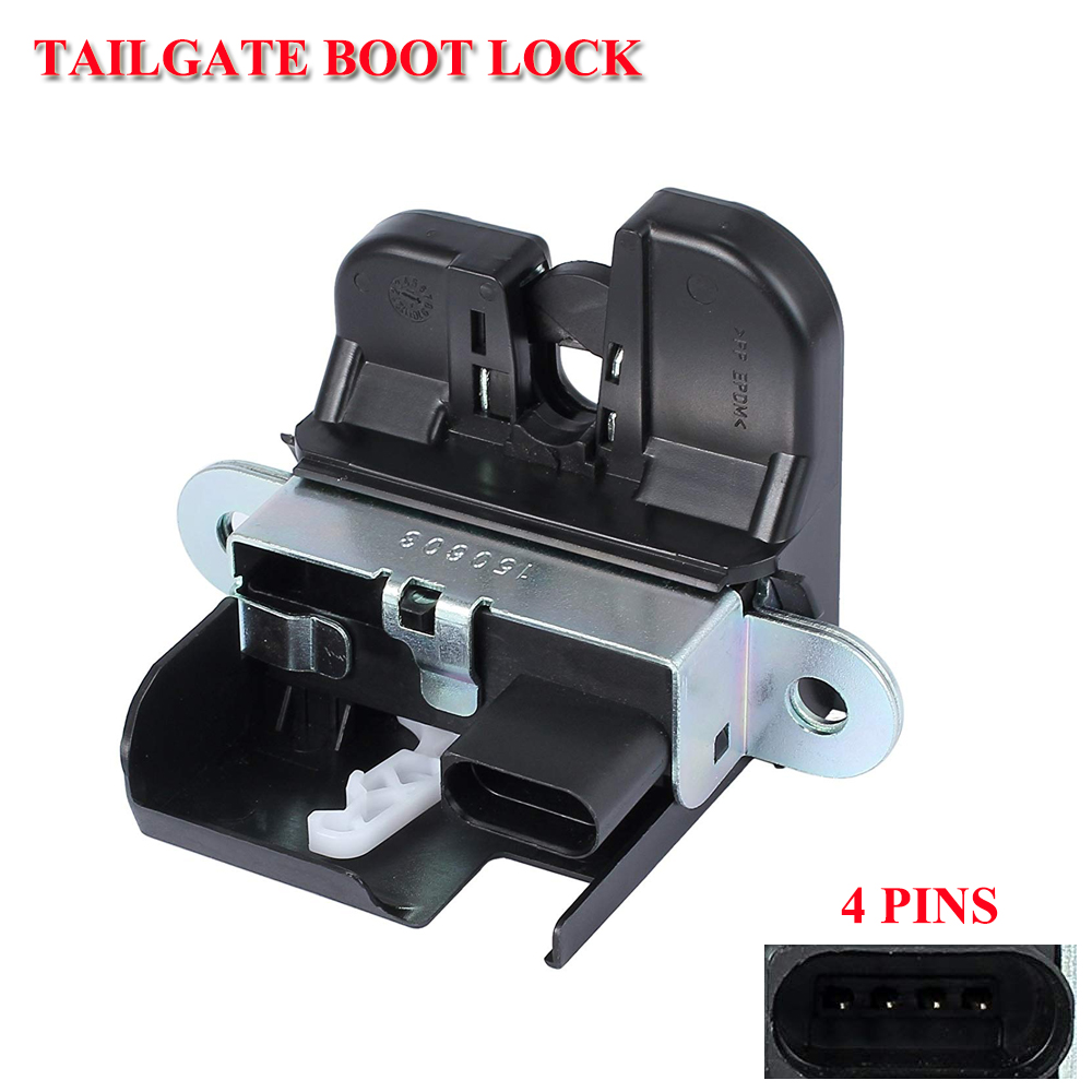 For SEAT ALTEA (2004-)  ALTEA XL (2004-)  LEON II (2005-2012)  TOLEDO III (2004-2009) Tailgate REAR TRUNK LOCK LID LATCH