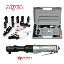 16pcs/set 1/2″ Air wrench set air Angle Die Grinder Cutting Cleanning Air Tools Air Wrench pneumatic spanner set