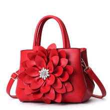 MONNET CAUTHY New Arrivals Female Totes Classic Flower Fashion Elegant Lady Handbags Solid Color Red Purple Pink Crossbody Bags