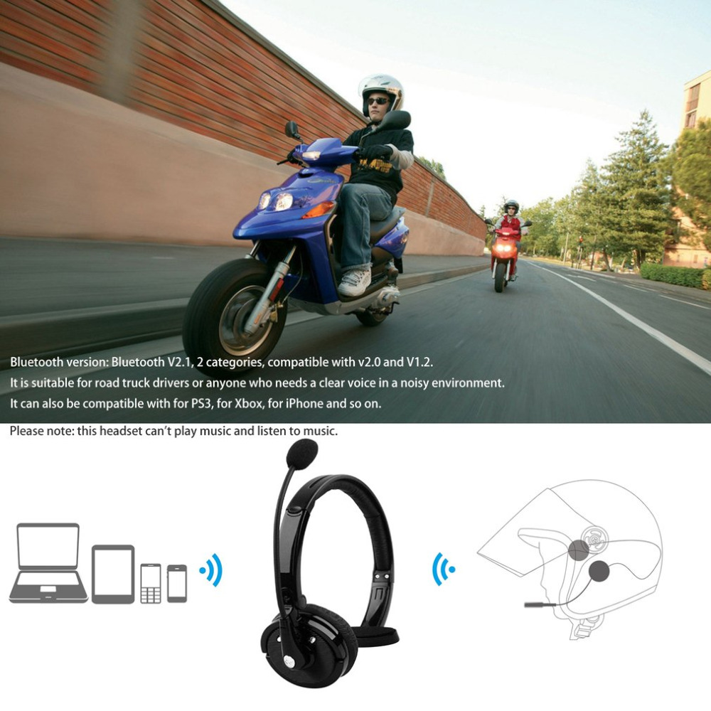 Bluetooth Headphones Portable Single Channel Wireless Headset Multi Point Connection for Up to Two Devices Noise Reduction kz headset storage box suitable for original headphones as gift to the customer
