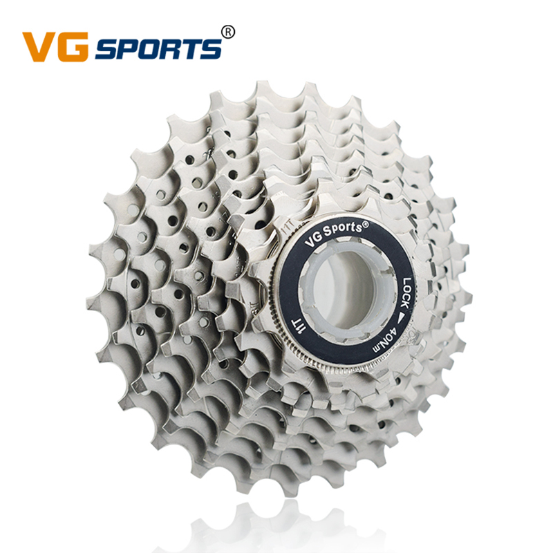 VG Sports MTB 10 Speed Cassette Ultralight 11-25T Road Bike Freewheel Sprocket