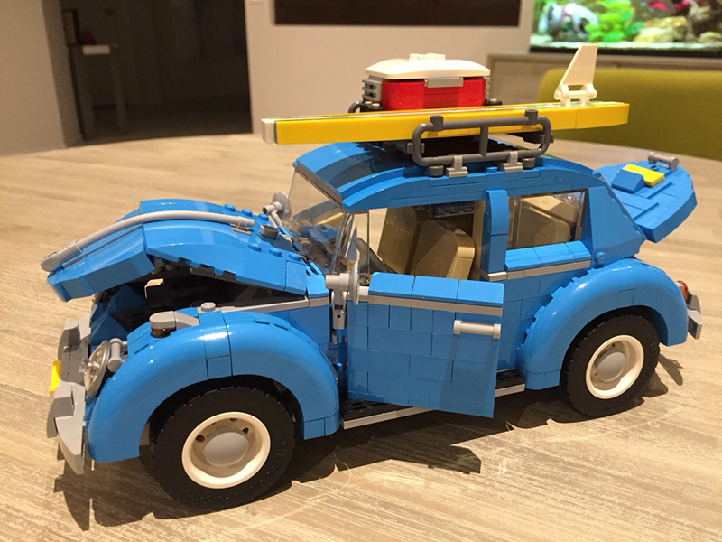 LEPIN Technic series 21003 514pcs Car Volkswagen Beetle Model Building Blocks Bricks Educationa Toys For Children 10252 new lepin 21003 series city car beetle model educational building blocks compatible 10252 blue technic children toy gift
