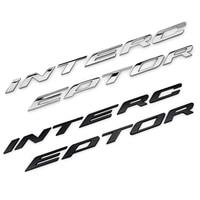 Police Interceptor Logo Car refit Emblem Decals Badge Sticker For Kuga Edge Explorer Mustang ranger fusion Focus Mondeo F150