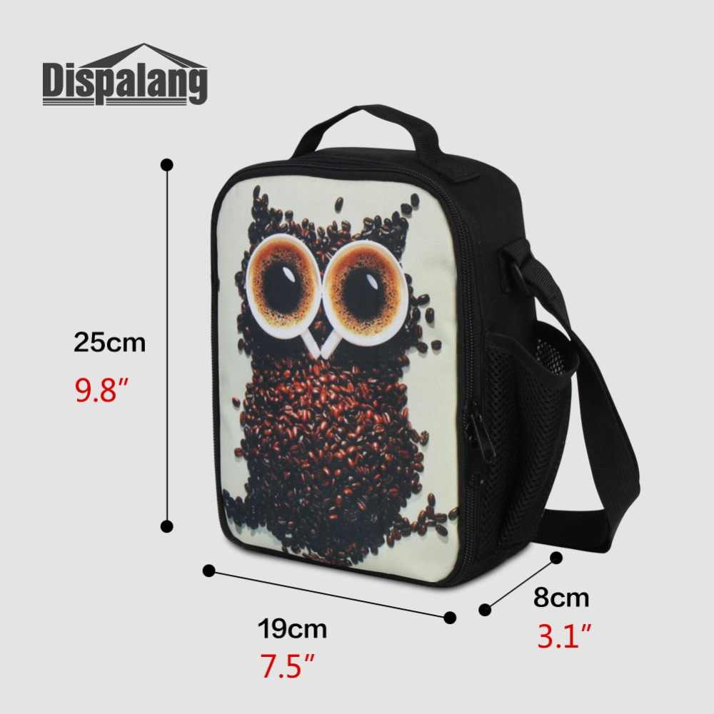 Portable Lunch Bags For Student Animal Horse Unicorn Printed Thermal Cooler Bag For Boy Girl Small Picnic Food Lunch Box Storage