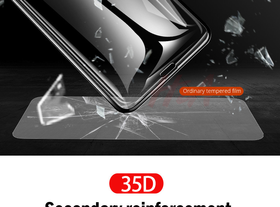 35D Curved Edge Tempered Screen iPhone Protective Glass 23